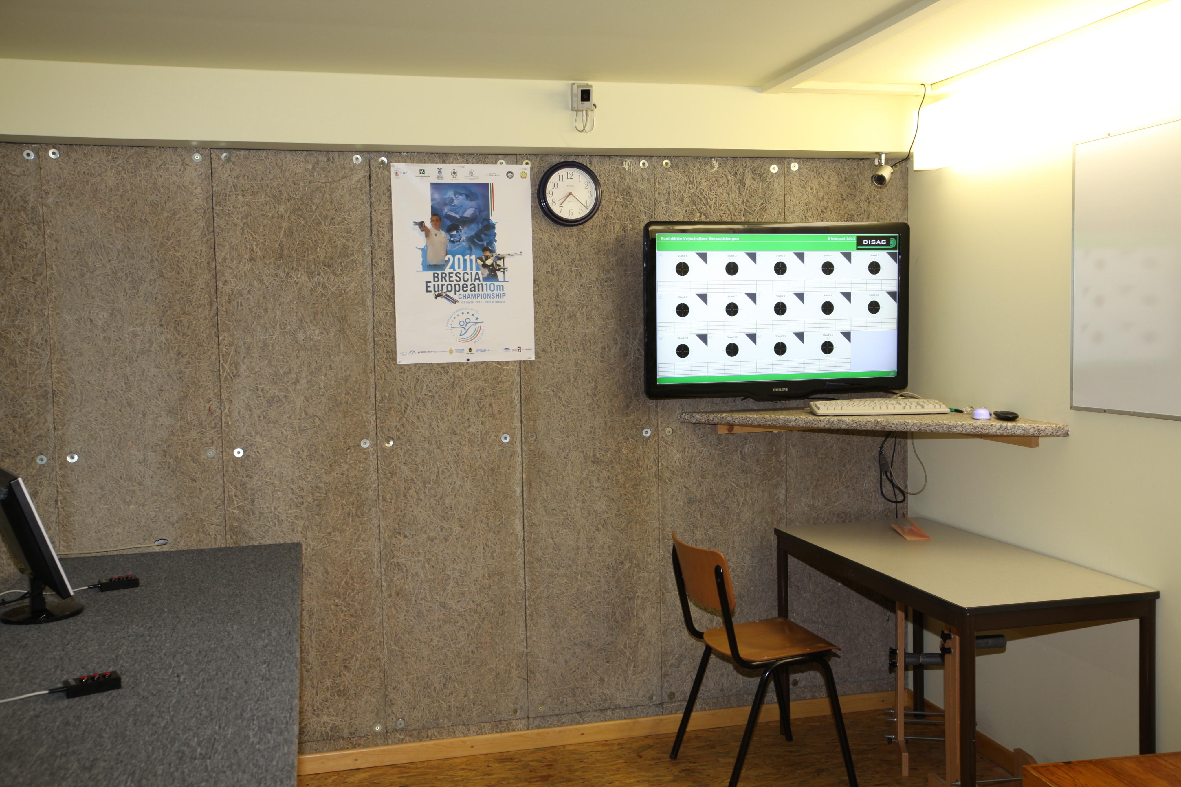 10 meterstand tv + bureau